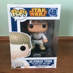 Funko Pop Luke Skywalker (Tatooine) 2015 Vaulted